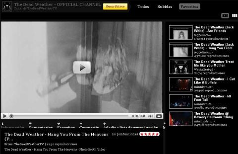 Dead Weather YouTube